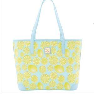 Dooney & Bourke | NWT lemon Charleston handbag